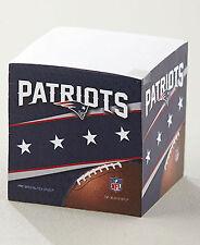 NEW NFL New England Patriots Helmet Logo Sticky Note Memo Pad Cube 550 Sheets
