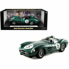 1959 Aston Martin Dbr1 #5 Green 1:18 Diecast Model Car Shelby Collectibles Sc106