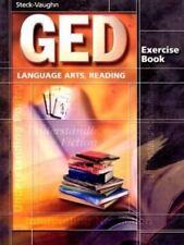 GED Exercise Books: Student Workbook Language Arts, Reading (Paperback or Softba