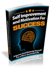 Self Improvement and Motivation for Success E-book in pdf + With Resell Rights