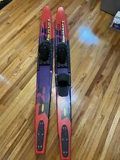 """Connelly Quantum 67"""" Waterskis w/Adjustable Size Bindings GREAT Fast Shipping"""