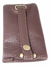 NEW key case leather brown bell keyring by Mala fathers day 581 26 verve BOXED