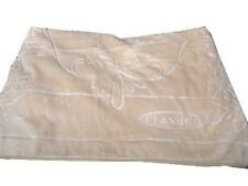 Licensed Solaron Classic Beige Korean Thick Mink Embossed King Size Blanket