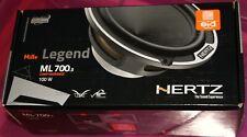 "New listing Hertz Mille Legend Ml 700.3 3"" Midrange Speakers New set with grills"
