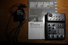 Behringer Xenyx 502 Analoug Mixer Board - Lightly Used