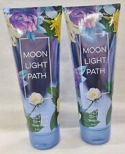 2 Moonlight Path Ultra Shea Bath & Body Works 8 Oz