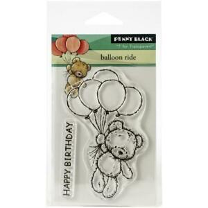 """Penny Black Clear Stamps - Balloon Ride 3""""X4"""""""