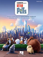"""""""THE SECRET LIFE OF PETS"""" PIANO SOLO MUSIC BOOK BRAND NEW ON SALE SONGBOOK!!"""