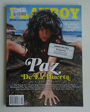 US Playboy Magazine *January / February 2013 *Paz De La Huerta Cover