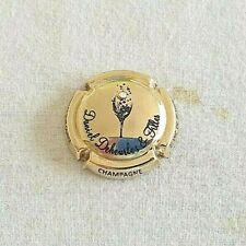 Capsule de Champagne DE SAINT-LÉGER N°50 Plaqué or TRÈS RARE