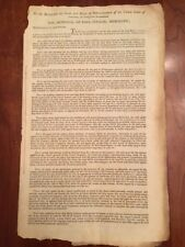 RARE 1802 Privateering During the Washington Administration, Wilmington NC Ships