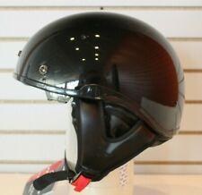 Open Box Blem Fulmer 303 Nomad Motorcycle Half Helmet Gloss Black Size Medium