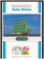 BRD, Gedenkblatt Kieler Woche 1994 - Alexander von Humboldt SSt Kiel 18.06.1994
