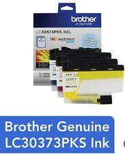 Brother - LC30373PKS XXL Super High-Yield 3-Pack INKvestment Tank Ink Cartridges