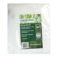 2 x Frost Plant Protection Bags Fleece Winter Cover Garden Shrubs 0.6m x 0.8m.