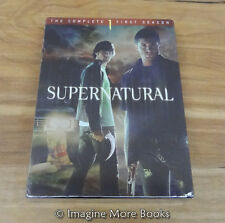 Supernatural: The Complete First Season (DVD, 2006, 6-Disc Set) ~ NEW/SEALED