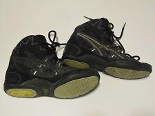 Asics Split Sole Wrestling Shoes Black White JL801 Size US 4.5 EURO 34.5