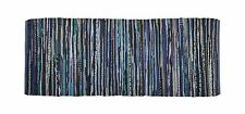 DII Home Essentials Rag Rug Runner for Kitchen Bathroom Entry W... Free Shipping