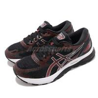 Asics Gel Nimbus 21 Black Classic Red Men Running Shoes Sneakers 1011A169-002