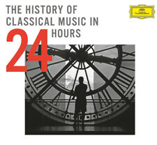 VARIOUS ARTISTS THE HISTORY OF CLASSICAL MUSIC IN 24 HOURS CD SET NEW