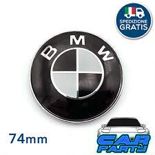 COPPIA STEMMA LOGO ADESIVI NERI BMW M PERFORMANCE BMW X1 X3 X5 X6 SERIE 3 5 7