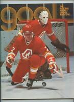 January 18 1975 NHL Hockey Program Philadelphia Flyers Atlanta Flames GOAL