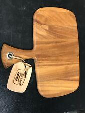 NEW Ironwood Gourmet Solid Wood Cheese Board and Platter