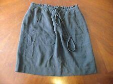 J. Crew Sz 2 Black Stretch Waist Skirt w/ Pockets Women's EUC