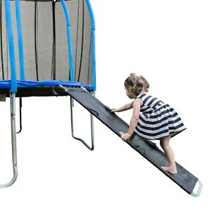 Kids Trampoline 2in1 Slide Ladder with Handles, Replace Normal Ladder-Brand New