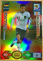 Michael Ballack Champion  Adrenalyn XL WM WC 2010 Trading Card Panini Mint / Neu