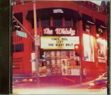 VINCE NEIL - LIVE, ONE NIGHT ONLY - THE WHISKY - CD - NEW