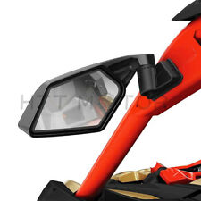 New Racing Side Mirrors For Can-Am Maverick X3 & MAX SSP UTV Off-road