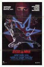 ENTER THE NINJA Movie POSTER 27x40 Franco Nero Susan George Sho Kosugi