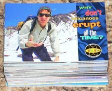 . Bill Nye the Science Guy. Complete 94 card base set by Skybox around 1995.RARE