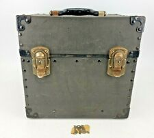 Vintage Camera Equipment Company Storage Box Case 16mm 35mm Film NYC AS IS
