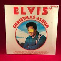 ELVIS PRESLEY Elvis' Christmas Album  1970 UK Vinyl LP EXCELLENT CONDITION Q