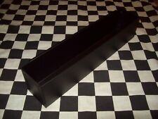 "New 16"" Flat Black Tool Box Aerosol Spray Can Holder snap 2 use- hang on side"