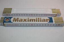 Zollstock mit  NAMEN    MAXIMILIAN   Lasergravur 2 Meter Handwerkerqualität