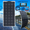 120W Solar Panel 36 Cells Solar Kits 12V/24V 20A Controller for RV Boat Home use