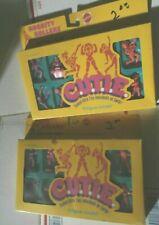 cutie c.u.t.i.e. gym & rockity rollers dollies mattel 1986  tiny individuals mib