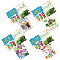 Carbs & Cals Smoothies, Reboot with Joe Juice Diet Collection Books Set NEW