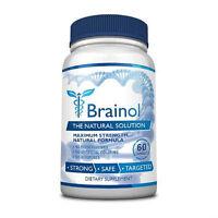 Brainol - Brain Boosting Supplement (1 Bottle)