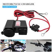 12VCargador Adaptador toma corriente Salida 12v Impermeable Motocicleta Moto USB