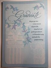 Religious GRADUATION CARD By HALLMARK Beautiful cards 2020 Congratulations!
