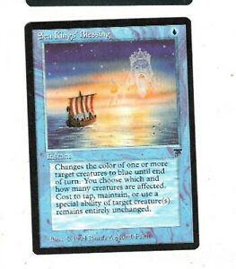 Sea Kings' Blessing Legends Lightly Played English Magic The Gathering