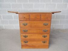 Ethan Allen CRP Heirloom Nutmeg Corner Chest 10-4532