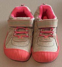 Girls Toddler Pink/Gray Slip On Oshkosh Bgosh Size 9 Sneakers Tennis Shoes (K)