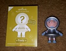 Hallmark Ornament 2012 Frosty Mystery Astronaut Silver Repaint Colorway Rare