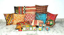 Set Of 10 Pillow Cover, Vintage Kantha Decorative throw Pillow, Kantha Pillow