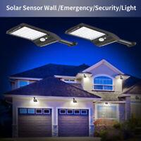 36 LED Solar Powered PIR Motion Sensor Garden Wall Light Security Outdoor New